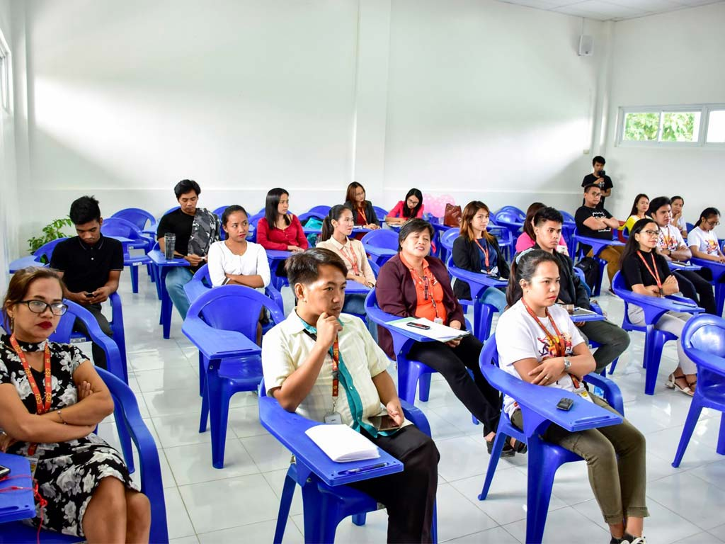 Staudents in Cagayan State University Classrooms